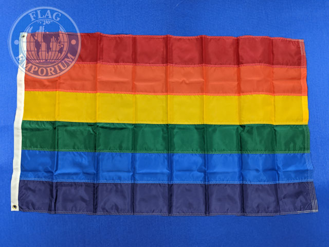 36x60 Rainbow Pride Applique Sewn Flag Heavyweight Nylon Grommets Rain3660hwgse 69 50 Flag Emporium Buy Canada Flags International Flags And Flagpoles A World Of Flags Flagpoles And Accessories